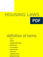 Housing Laws 101