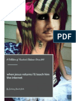 when jesus returns i'll teach him the internet