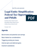 Deloitte - Tax Issues and Entities