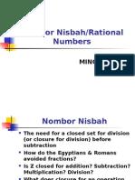M9 Nombor Nisbah