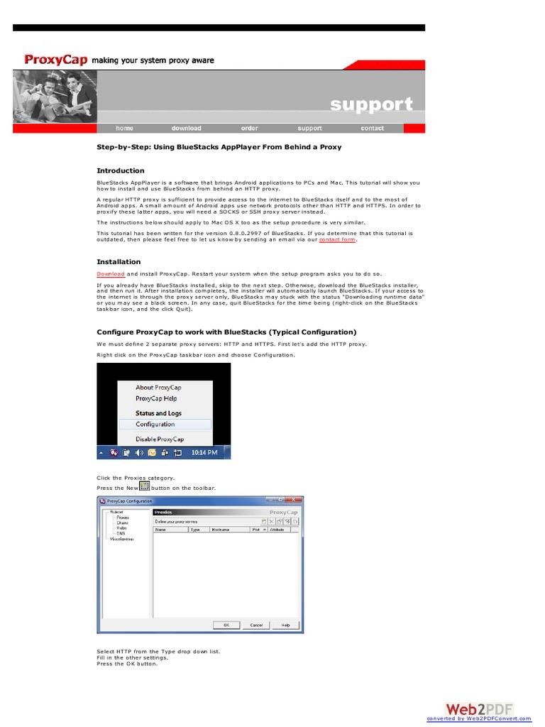 Www Proxycap Com | Hypertext Transfer Protocol | Computer Networking