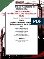 Informe Geotecnico de La Hauraclla
