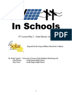 Pv Lesson Plan 2 Solar Electric Arrays