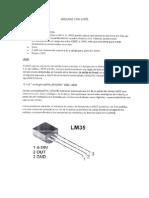 Arduino Con Lm35
