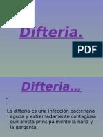 Difteria…