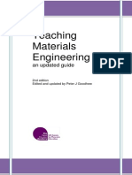 Teaching Materials Engineering