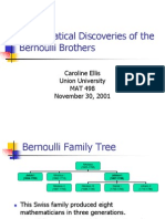 The Bernoulli Brothers