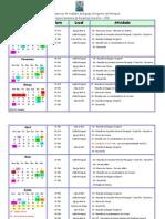 Cronograma de Atividades Da Equipe Dirigente Do ECC - Feijó - 2011