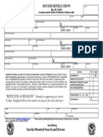 2015 May Show Entry Form