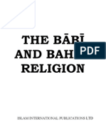 The Babi And Bahai Religion