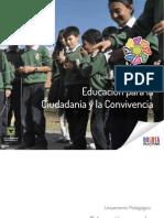 Lineamiento Pedagogico Educacion Para La Ciudadania y La Convivencia