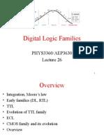 Logic Families Lecture