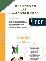 Conflicto en Las Organizaciones