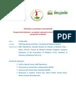 Program Workshop Mai 2015