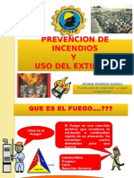 Prevencion de Incendios y Uso de Extintores