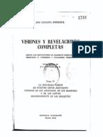 Emmerick, Visiones y revelaciones completas, Tomo IV (comenzar por éste)