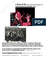 Metal Bulletin Zine 52