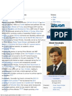 Ahmet Davutoğlu - Wikipedia, The Free Encyclopedia