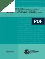 CAPITULO I La Teoría Del Crecimiento Conceptos Básicos y Breve Historia