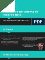 Análise de um poema de Ricardo Reis
