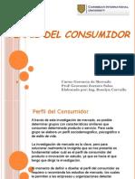Perfil Del Consumidor. Roselyn Carvallo