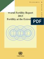 World Fertility Report 2013