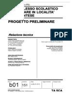 b01 Relazione Tecnica