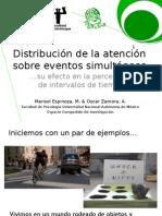 PSIFEX 2014 Distribución de Atención Sobre Eventos Simultáneos en La Percepción de Intervalos de Tiempo