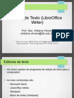Editor de Texto (Writer)