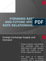 Forward Rate and Future Spot Rate Relationship