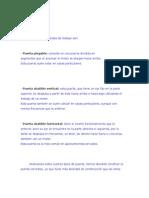 Puerta Plegable, Abatible Vertical y Horizontal, Corrediza. Materiales. Herramientas. Metodología