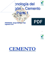 UTEM 2015 Clase 2 Cemento Parte 1