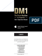 Dm1 The Drum Machine User Guide