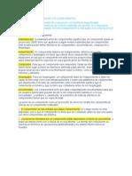3.3.3 CARACTERIZACIÓN DE LOS COMPONENTES