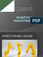 Robótica Industrial Apresentação