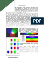 Fichas de Estudio Color
