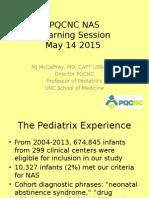 PQCNC NAS Learning Session 2 May 2015