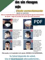 Afiche Ajuste Del Respirador
