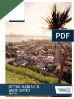 Auckland Waste Management and Minimisation Plan