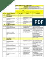 Formato - Lista de Verificación