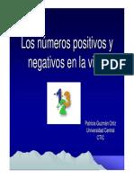 losnmerospositivosynegativospowerpoint-111022113549-phpapp01