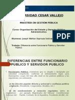 Funcionario Publico y Servidor Publico