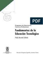 ETP Fundamentos de La Educación Tecnologica