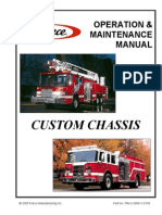 Pierce Custom Chassis Operation and Maintenance Manual - 2005 (2008 Test)