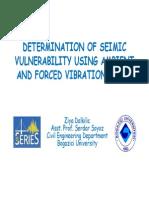 Ambient Vibration 1 Slides
