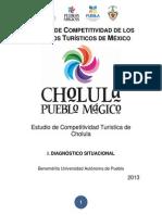Agenda de Competitividad de los Destinos Turísticos de México de Cholula