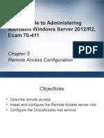 MSCA Ch05 Remote Access Configuration