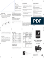 Manual Filtrouv Cubos
