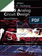 Allen-holberg_CMOS Analog Circuit Design