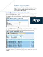 94808183 Monitoring Queue Status Transaction SMQ1 SMQ2